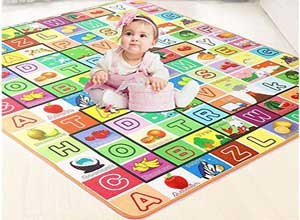 Double Sided Water Proof Baby Crawling Play Mat