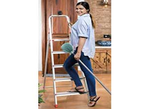 5-Step Foldable Aluminium Ladder