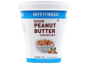 MY FITNESS Original Peanut Butter Crunchy 510g